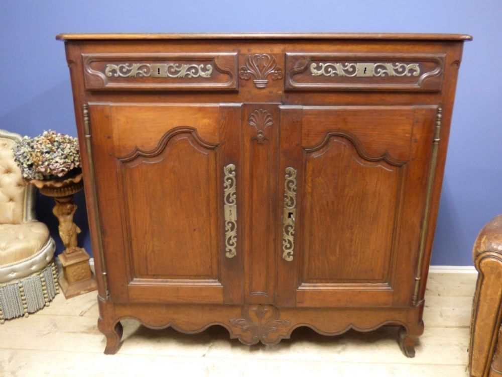 Antique French Dresser Base / Sideboard - ca192